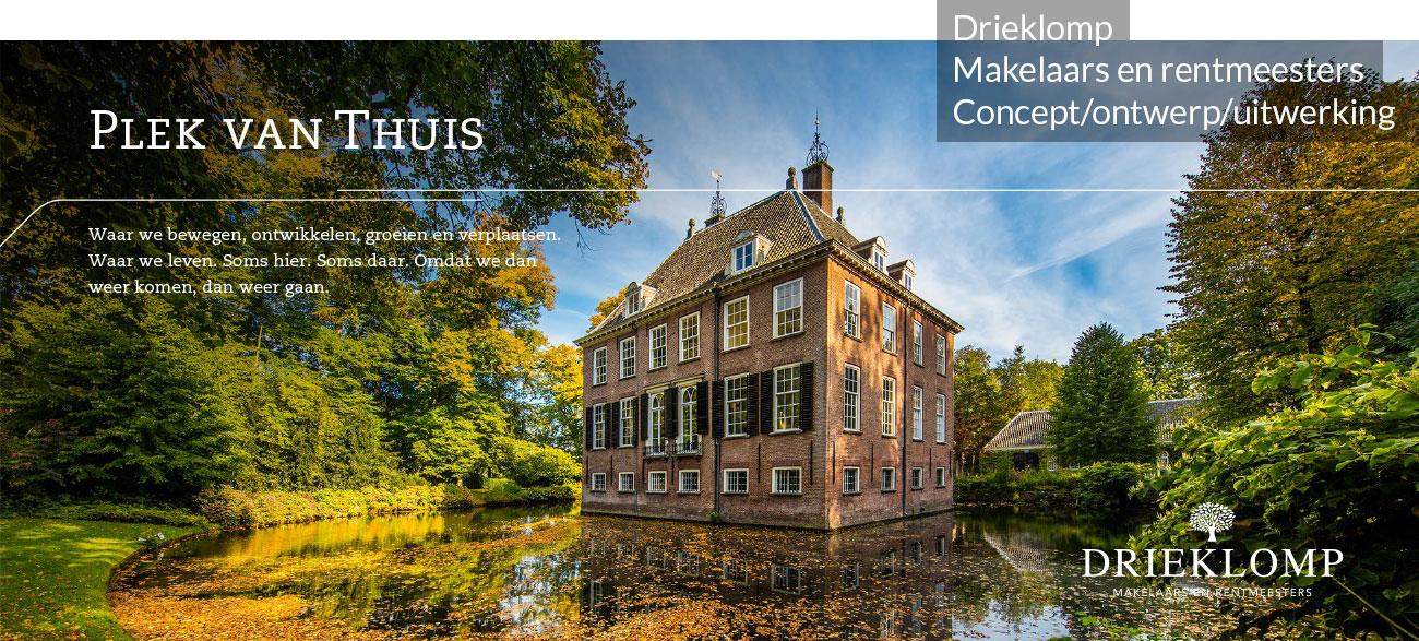 zichtbaar.nl drieklomp makelaars en rentmeesters concept ontwerp