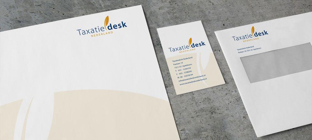 Huisstijl Taxatiedesk